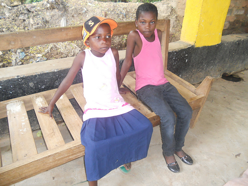 Malita and Joyce ready to go back to school