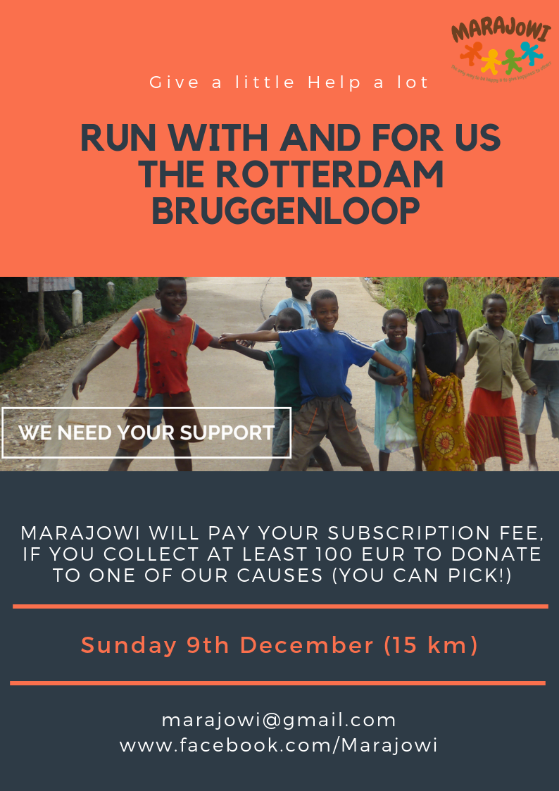 Join us in the Rotterdam run