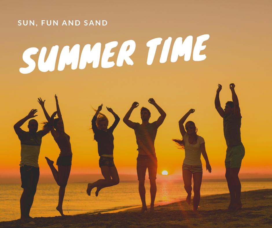 Sun, fun and sand